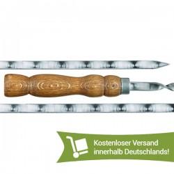 Шампур с деревянной ручкой...