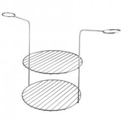 Gitter mit zwei Ebenen